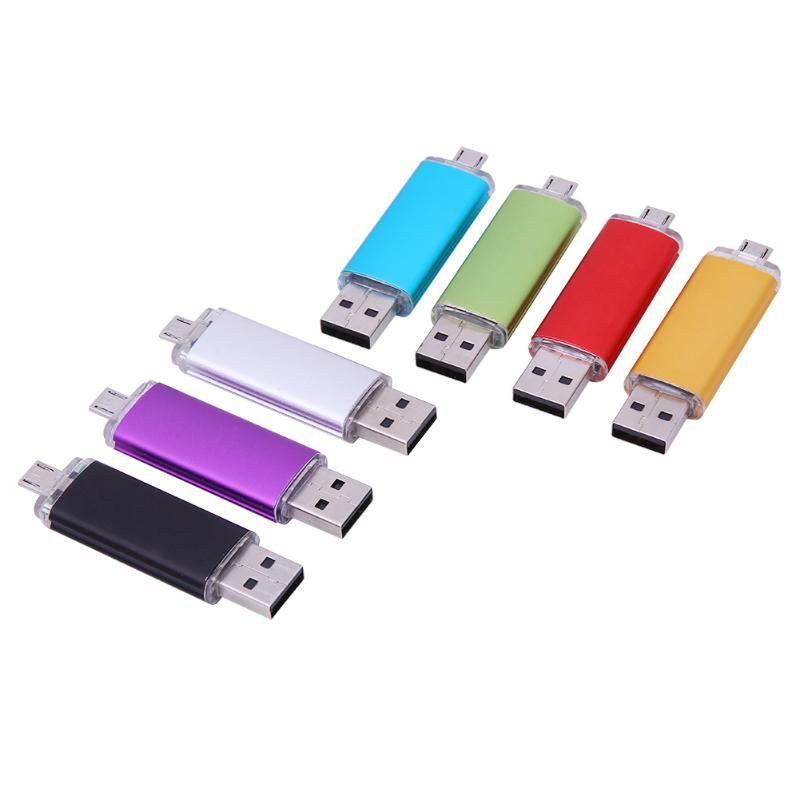 alloet USB Flash Drive Disk OTG 32GB USB2.0 Pen Drive Tiny Pendrive Memory Stick Storage Device U Disk for Desktop Mac