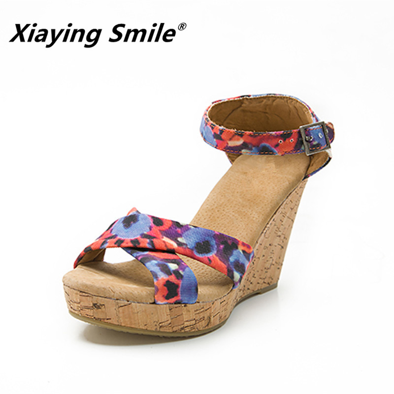 Buy multicolor wedge and get free shipping on AliExpress.com 0b3b517ea283