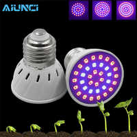 LED grow light 3w/4w/5w E27 SMD 2835 LED Mini Plant Growth Lamp for Flowering Plant leaf growing and Hydroponics System indoor