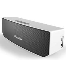Bluedio BS-3 (Camel) Mini Bluetooth speaker Portable Wireless speaker Sound System 3D stereo Music surround(Silver)