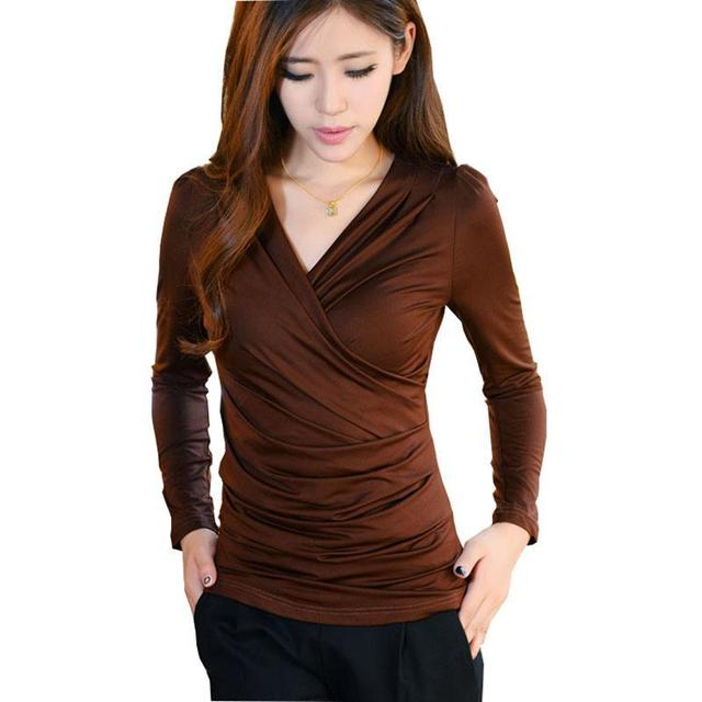women sexy t-shirt poleras de mujer moda shirt clothes womens tops fashion  plus size tee shirts femme camisetas mujer 1d8a8ab12a79