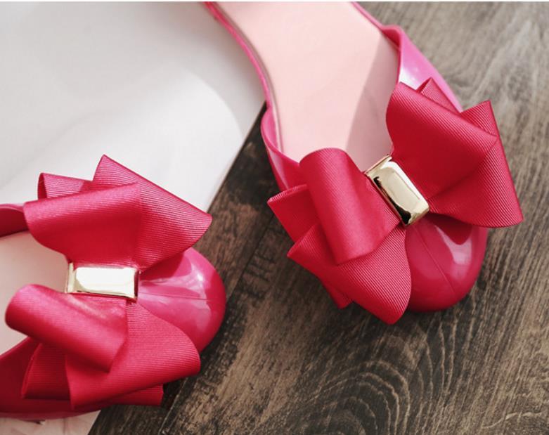 2019 Jalea Chica Red Verano On Mujeres rose 36 40 Zapatos Bowknot 3 khaki Dulce Black Mujer Nuevo Casual Suave Señora Sandalias Slip De Color Flats Moda SrZqAwYr
