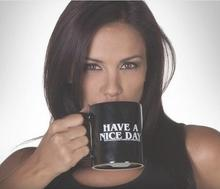 Funny Coffee Mug – Have a Nice Day Coffee Plus Middle Finger