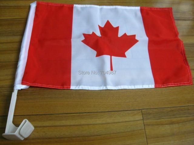 30x45 cm Canada voiture fenêtre bannière drapeau livraison gratuite ...