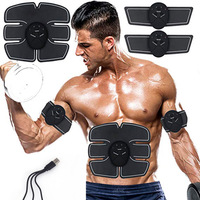 EMS ABS Muscle Stimulator Trainer Electroestimulador Abdominales For Men Women Fitness Abdominal Leg Arm Work Out Training Gear