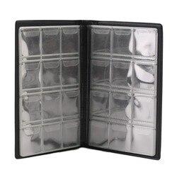 Colección de monedas conmemorativa caja de volumen libro de almacenamiento vacía Carpeta para monedas guardar 120 piezas monedas Envío Directo