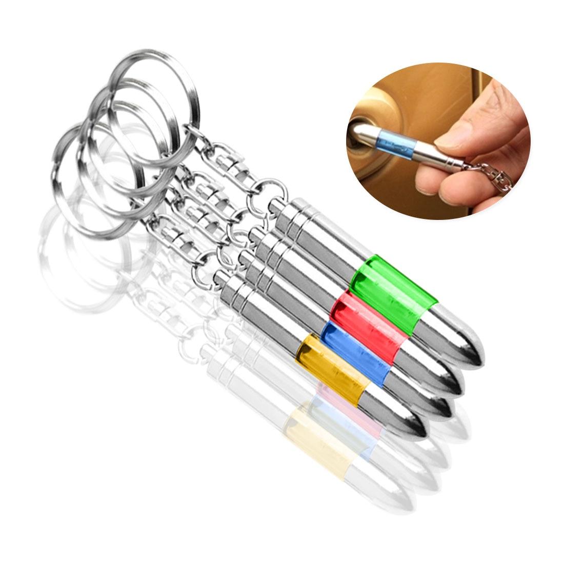 Антистатическая Пряжка для ключей для автомобилей быстро устраняет статическое электричество