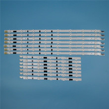 832mm 14 Piece/Set LED Array Bars For Samsung UE40F6400AK UE40F6400AS 40 inches TV Backlight Strip Light Matrix Lamps Bands