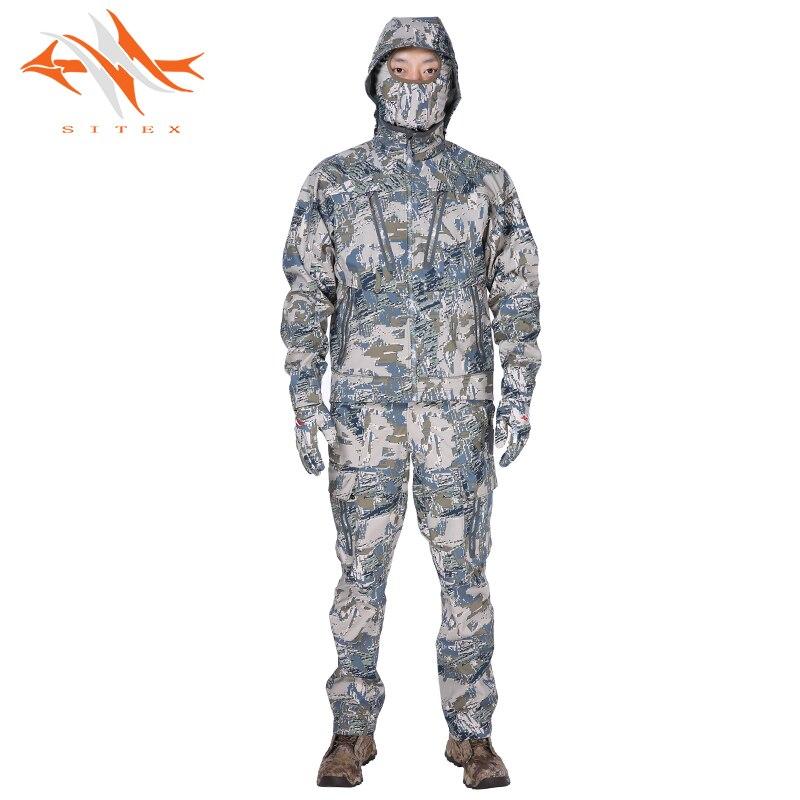 2018 nouvelle sitex veste de chasse ouverte + pantalon veste Jetstream