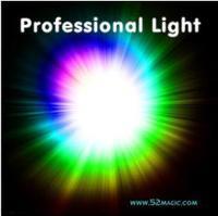 Верхний Qulity профессиональный лёгкие квартиры-pair комплект ( белый, Зеленый, Синий, Красный ), Четыре цвет, Сцена мэджик, Супер лёгкие