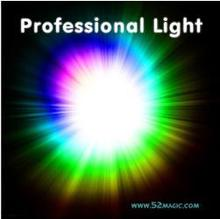 Free shipping! Top Qulity Professional Light-Pair Set (White,Green,Blue,Red),Four Color Available,Stage Magic,Super light