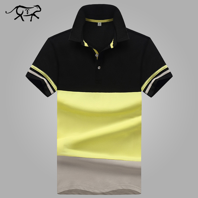 49d7b52d29d New Brand POLO Shirt Men Cotton Fashion Patchwork Camisa Polo Men Summer  Short-sleeve Casual Lapel Men s Shirts jerseys Slim Fit