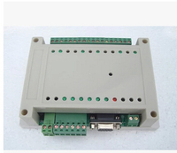 Free Shipping!!! Six way 12V industrial control panels programmable relay control RS232 RS485 Interface imitation STC PLC