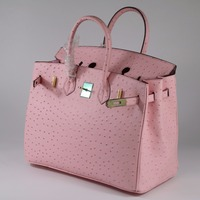 Fashion Ostrich Pattern Genuine Leather Women Handbag\Bag ladies' Tote Shoulder Bag Messenger Bag~Quality Guaranteed~17B31