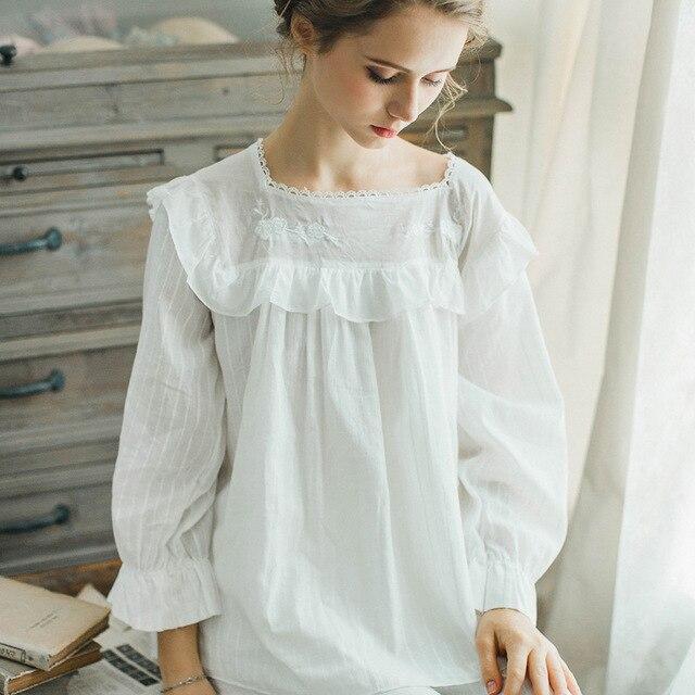 Women Pajamas Set Princess Long Sleeve Fashion Square Neck Solid Sleepwear  Pajamas Pants Set Sweet Soft Daily HomeWear e16330f81