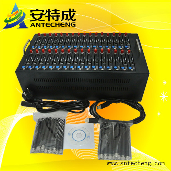 Factory Industrial low price 32 port bulk sms gsm modem free bulk sms software ussd stk mobile recharge imei changeable