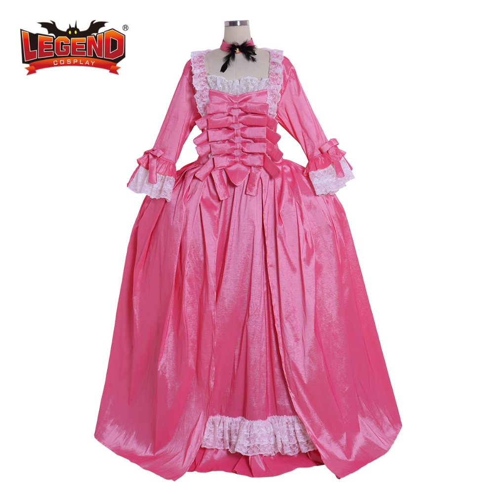 Retro Rococo Outfit Baroque Marie Antoinette Cosplay Vintage Court Suit Dress