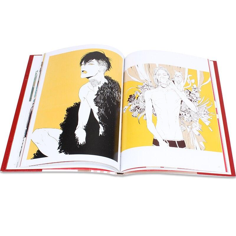 de arte dos desenhos animados livro original