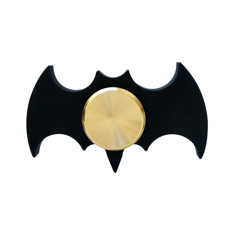Fidget Spinner Finger Batman Tri Spinner Metal Spinner Hand EDC Focus ADHD Handspinner Black Batman Toy