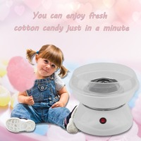 Mini Portable Household Electric DIY Sweet Cotton Candy Maker Cotton Sugar Making Machine For Children Kids