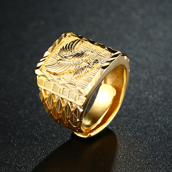 טבעת גולדפילד מהודרת עם נשר