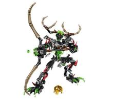 Bevle XSZ 611-3 Biochemical Warrior BionicleMask of Light Bionicle Umarak Hunter Building Block Compatible with LEPIN 71310 Toys