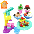 Minitudou Playdough Мороженое Play Doh Детские Игрушки DIY Мягкая Глина Блоки Пластилин Дети Обучения Развивающие Игрушки