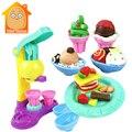 Minitudou plastilina helado play doh niños juguetes diy bloques de arcilla blanda plastilina niños juguetes educativos de aprendizaje
