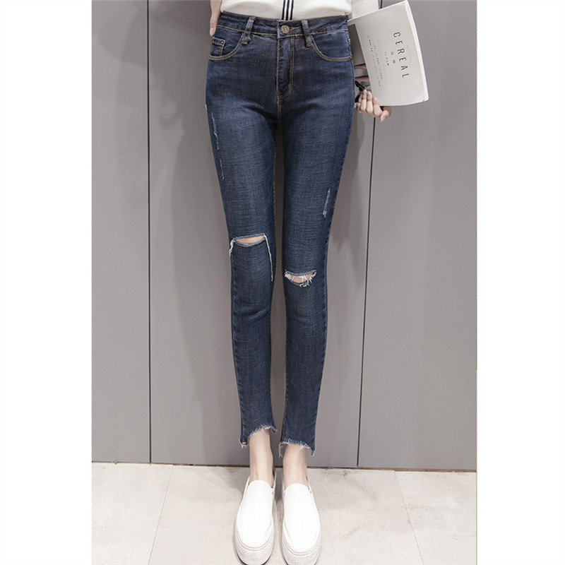 Popular Plus Size Distressed Jeans-Buy Cheap Plus Size Distressed