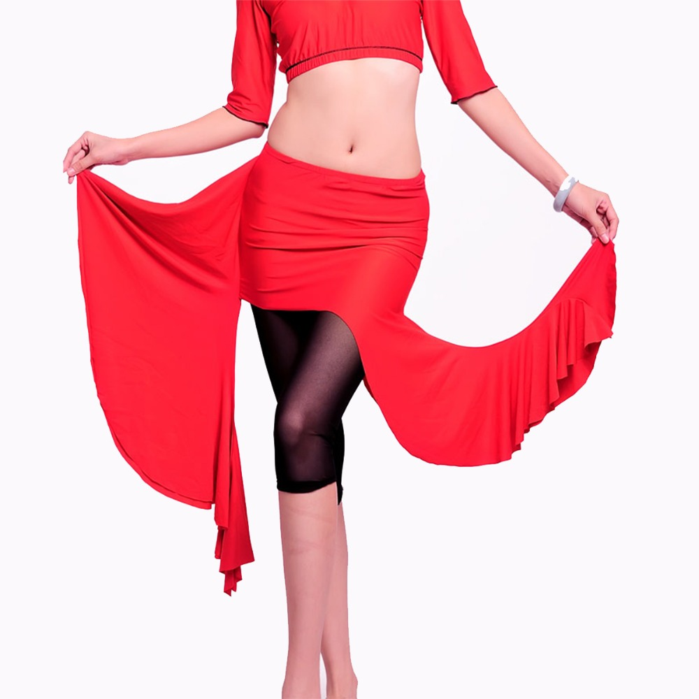 Hot Sale Gratis verzending Hoge kwaliteit Nieuwe buikdans rokjes buikdans rok kostuum training jurk of prestaties-6025