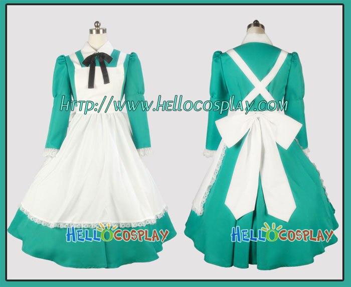 65% bavlna + 35% polyester Japonská anime oblečení Hetalia: Axis Powers Cosplay Maďarsko Šaty H008