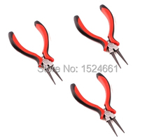 Round-Nose Pliers Beading Jewelry Tool *tweezers viseglue gun pliers ring sizer graver jewelry tools