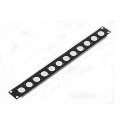 High Quality 4pcs/lot 1U Penn Elcom Rack Panel Punched For 12 X XLR Or Speakon R1269/1UK/12 19