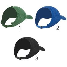Baseball-Hat Ponytail Empty-Top Breathable Womens Adult Half Solid Sport-Trucker-Cap