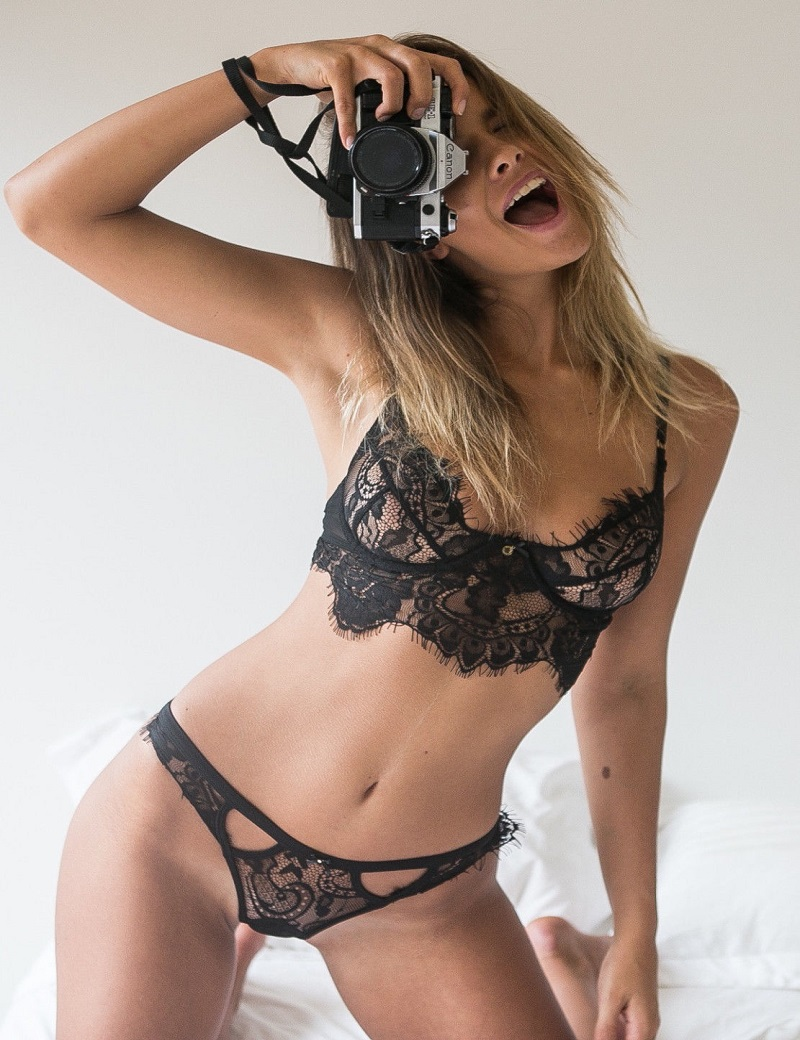 f1f8d30939 sexy lingerie hot black lace temptation 3 point Micro Bikini lingerie set  sexy costume women lenceria sexy sleepwear plus size-in Lingerie Sets from  Novelty ...