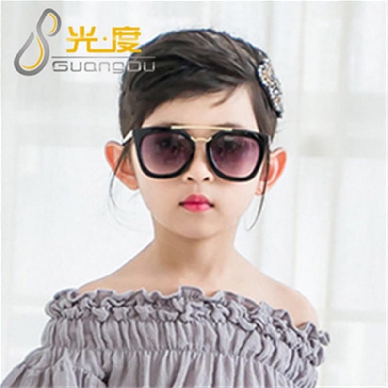 women men man silrs 2016 Vintage Round Coating Sunglasses Fashion Brand Designer Eyewear Metal Arrow Sunglass For Children Kids
