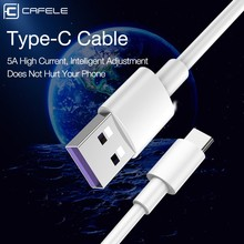 Universal USB to Type-C 5A Fast Charging Data Sync Cable Line for Android Phones