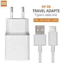 Xiaomi Original Charger 5V/2A EU Type-C Micro USB Data Cable