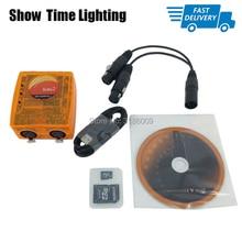 Fast delivery mini dmx console Sunlite Suite2 FC DMX-USD Controller pro for DJ Party LED Lights Stage Lighting control software chauvet dj fc w