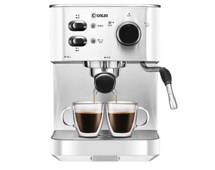 Donlim <font><b>DL</b></font>-DK4682 household Stainless steel italian cafe machine espresso coffee maker 20Bar 1.5L 110-220-240v Stainless steel image
