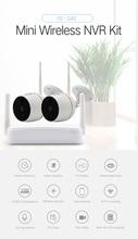 SmartYIBA HD 1080 P Wi Fi мини NVR CCTV камера безопасности системы комплект водостойкий видео Wifi камера видеонаблюдения двухстороннее аудио