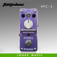 Free shiping Aroma brand high gain distortion effects pedal AMC 3 electric guitar stompbox guitar single