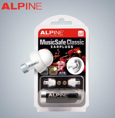 Alpine Music Safe Classic Earplugs Music Ear Plug Ear Protection Earplugs for DJ
