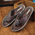Men Flip Flops Plus Size 40-45 Men Summer Sandals Men Beach Flat Sandals Black Brown Soft Sandals Flip Flops men