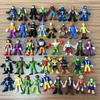 Lot 7 PCS Imaginext DC Super Hero Loose Action Figures TOY for boys randomly no repeat