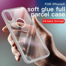Transparent Phone Case For iPhone 5 5S SE 6 6S 7 8 Plus X XR XS Max Cases Full Protection Armor Back Cover For iPhone X Funda(China)