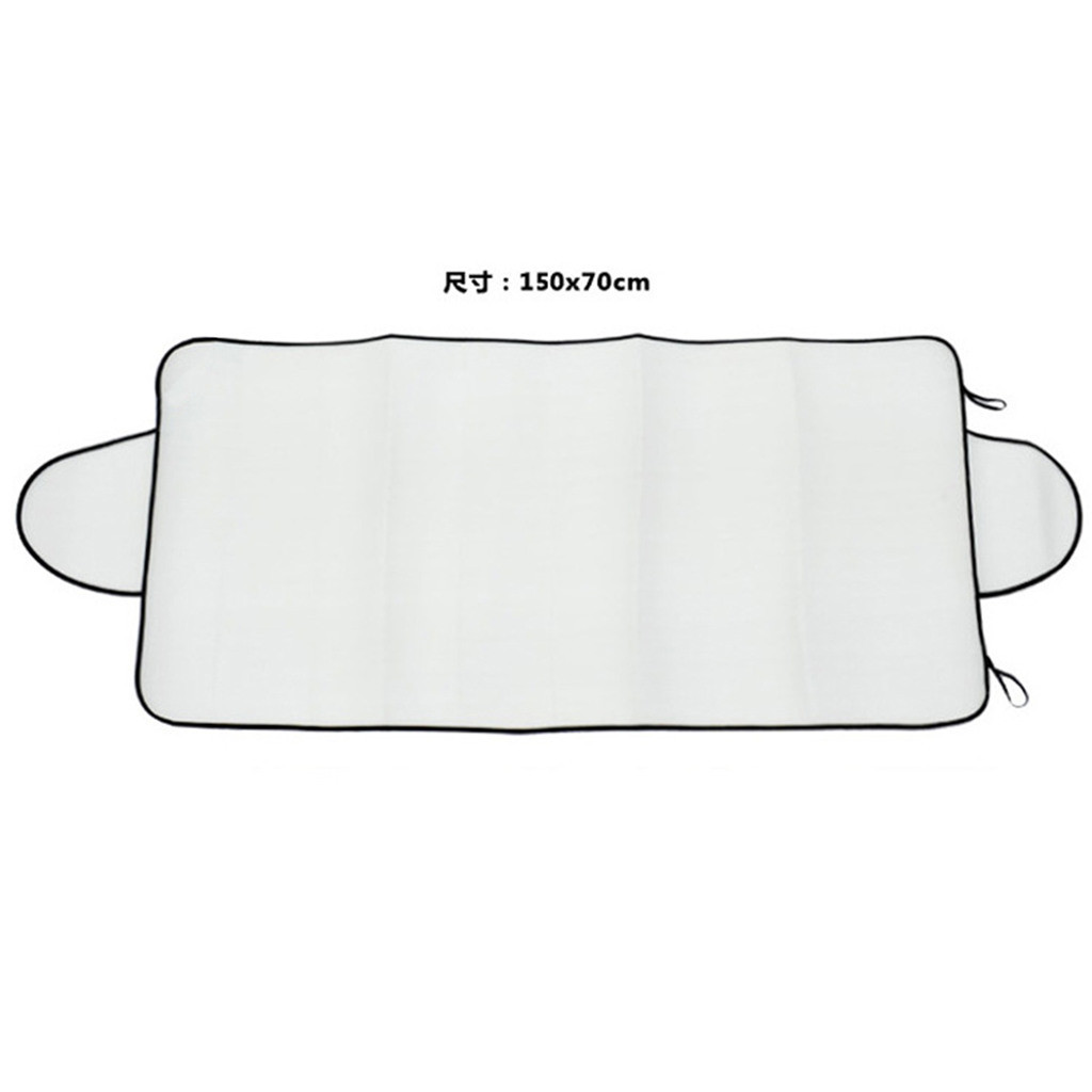 Image 5 - Car Sun Shade Auto Curtain  Windshield Snow Cover Ice Removal Wiper Visor Protector All Weather Winter Summer Sunshade Car-in Windshield Sunshades from Automobiles & Motorcycles