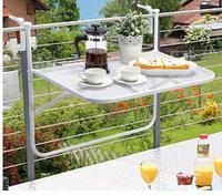 Balcony iron art racks. Metal folding hangers. Balcony multi function creative leisure table..