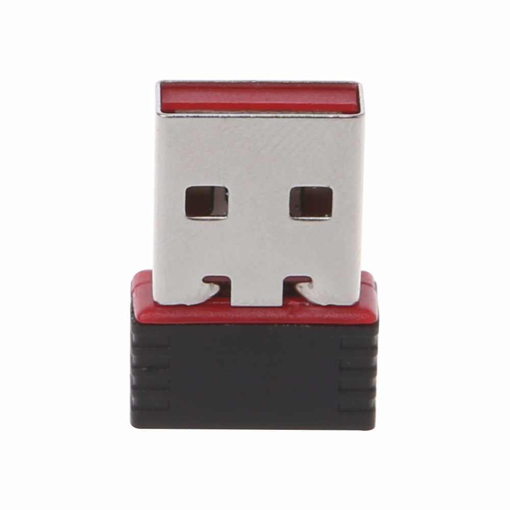 Ralink RT5370 150 Mbps מיני אלחוטי LAN מתאם USB 2.0 Wifi רשת רשת כרטיס 802.11 b/g/n 2.4 ghz Hi-מהירות C26