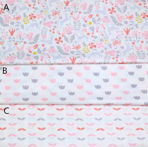 Fl Cotton Fabric Nursery Infant